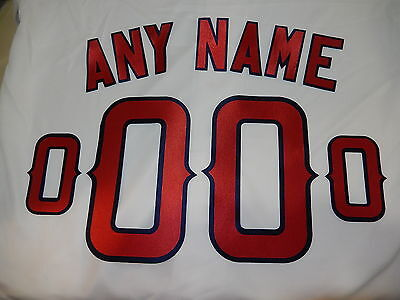 ANAHEIM ANGELS Number KIT Authentic HOME WHITE Baseball -