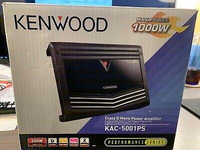 Kenwood KAC5001PS 1000W Car Amplifier