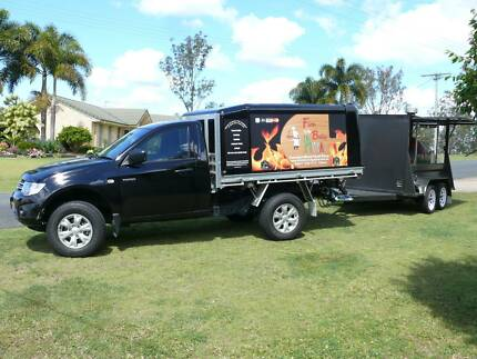 Mobile Wood Fired Pizza Business Victory Heights Gympie Area Preview