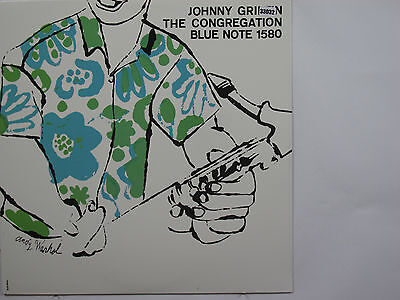 JOHNNY GRIFFIN LP, THE CONGREGATION (BLUE NOTE US Issue NM/NM)