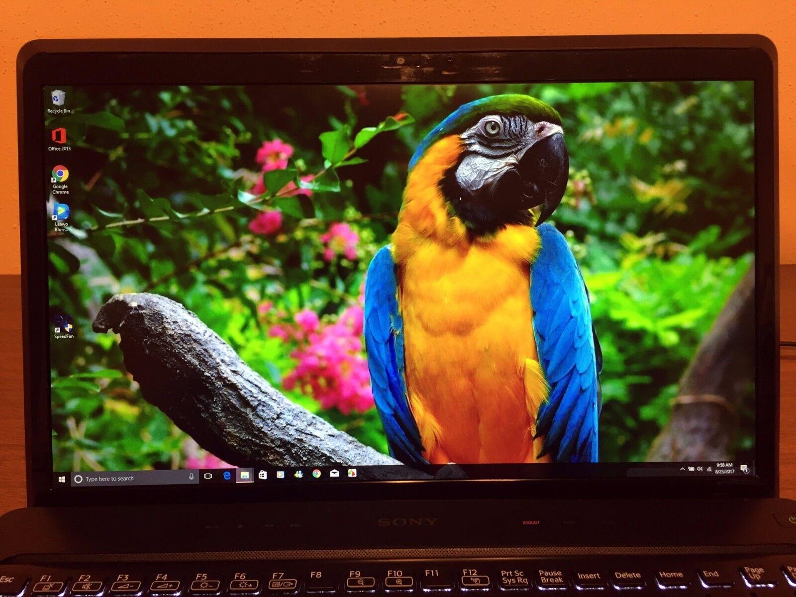 "Sony VAIO VPCF2 ✔16.4"" 1080P✔ i7-2670QM✔ 640 HDD✔ 8GB Ram ✔1GB GPU✔BluRay ✔Win10"