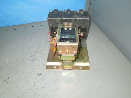 Square D 8502-E0-2 Size 3 Open Contactor 90/100A 3ph 208-220V Coil Used
