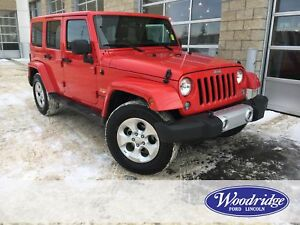 2015 Jeep Wrangler Unlimited Sahara NO ACCIDENTS, LEATHER HEA...