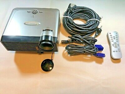 Optoma HD DLP Projector (Model EP719) & Stretchy Screens 18x9ft. Screen Bundle