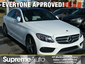2015 Mercedes-Benz C-Class C400 4MATIC NAVI/ROOF/B.CAMERA