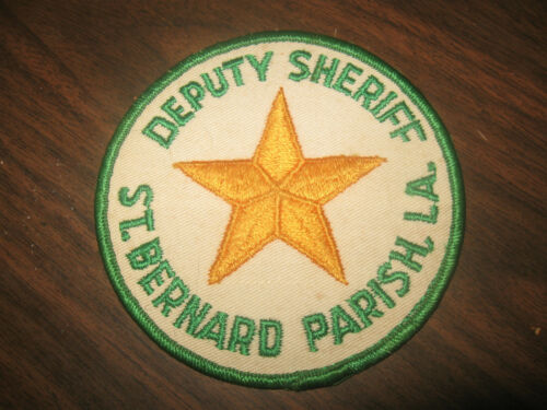 ST BERNARD PARISH LOUISIANA SHERIFF POLICE PATCH
