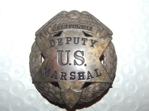 ANTIQUE DEPUTY US MARSHAL CALIFORNIA   USMS POLICE CA