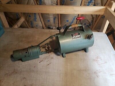Vintage Hauck Manufacturing Co. Blow Torch Made In Brooklyn, NY Steam Punk