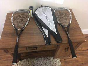 Dunlop max plus Ti squash racquet