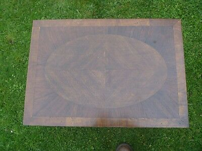 Vintage inlaid occasional table.
