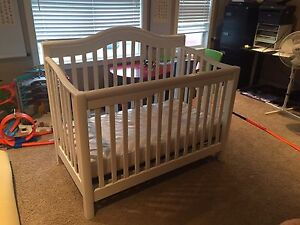 Crib Set (with attachments and bedding)