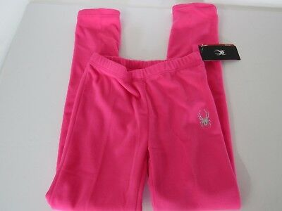 Spyder Momentum BLUBBLEGUM Plush Brushed Thick Fleece Pants Youth Girls XL