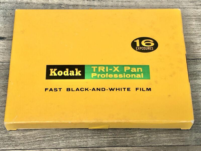 "Vintage Kodak Tri-X Pan Professional Film Pack 4"" x 5"" Film Pack TXP 523 Sealed"