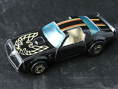 1977 Hot Wheels Blackwall Hot Bird Pontiac Trans Am - Black - Hong Kong
