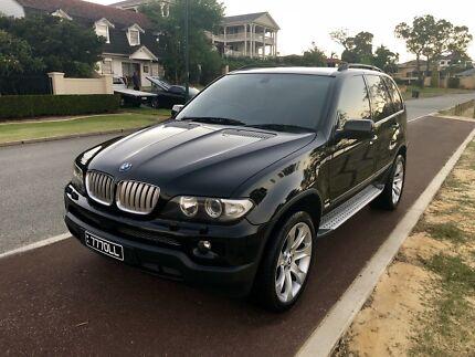 BMW X5 2005 e53 4.4 V8 BLACK
