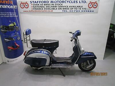 VESPA DOUGLAS 150. OFFERS INVITED. STAFFORD MOTORCYCLES LIMITED