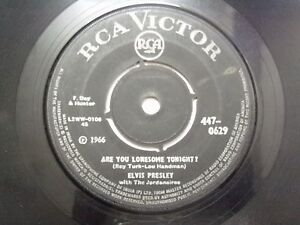 ELVIS-PRESLEY-447-0629-BLACK-RARE-SINGLE-7-45-RPM-INDIA-INDIAN-VG