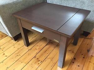 Side Table or Lamp Table with Drawer St Kilda West Port Phillip Preview