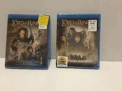 The Lord of the Rings: Fellowship + The Return of the King (Blu-ray Disc/DVD)