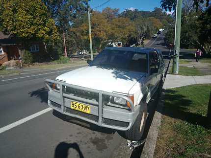 1990 Ford Courier 4x4 Wollongong Wollongong Area Preview
