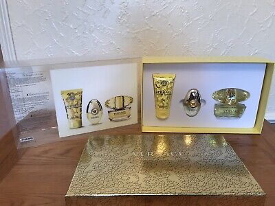 Versace Yellow Diamond Gift Set  50ml+10ml EDT ⭐️ Brand New ⭐️ Recorded Delivery