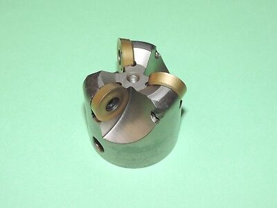 Ingersoll 2 Form Master Indexable Button Face Mill W Inserts 5w6m-20r03