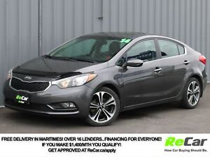 2014 Kia Forte 2.0L EX HEATED SEATS | SUNROOF | ONLY $47/WK T...