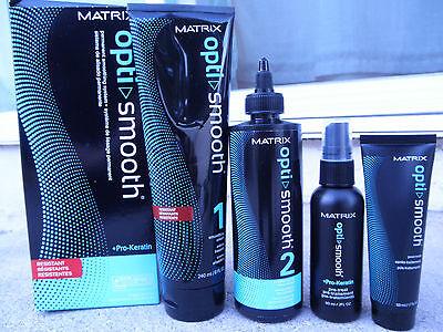 MATRIX Opti Smooth Hair Straightener for Resistant Hair + Pro-Keratin NEW!