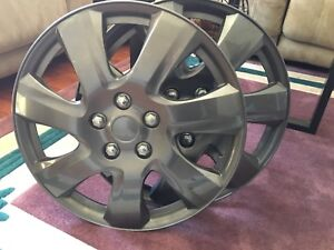 "4 pack 17"" wheel covers"
