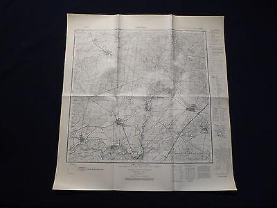 Landkarte Meßtischblatt 4341 Söllichau, Schköna, Tornau, Brösa, von 1938