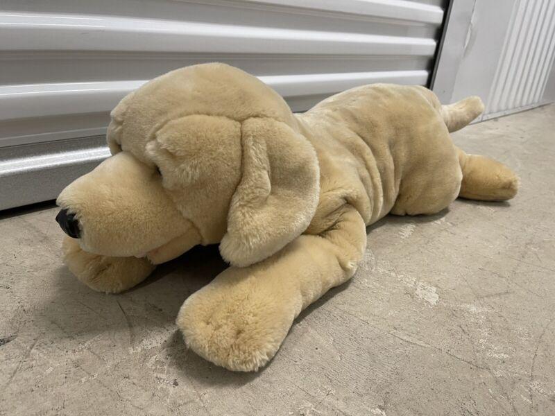 """Jumbo Animal Alley 32"""" Yellow Labrador Plush - Dog Large Long Plush"""