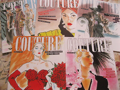 SPECIAL OFFER! 5 Books: Jim Howard's COUTURE Fashion Paper Doll Series 1910s-50s