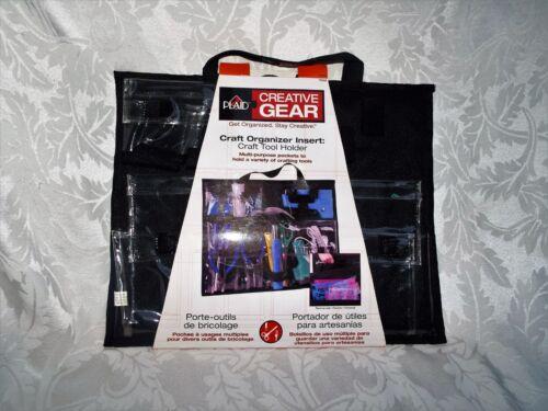 PLAID CREATIVE GEAR Craft Organizer - Multi storage Pockets - NEW