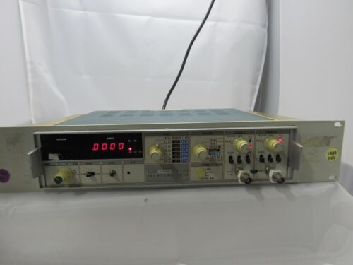 Fluke 1953A Frequency Counter Timer W/ OPT. 5/15/16