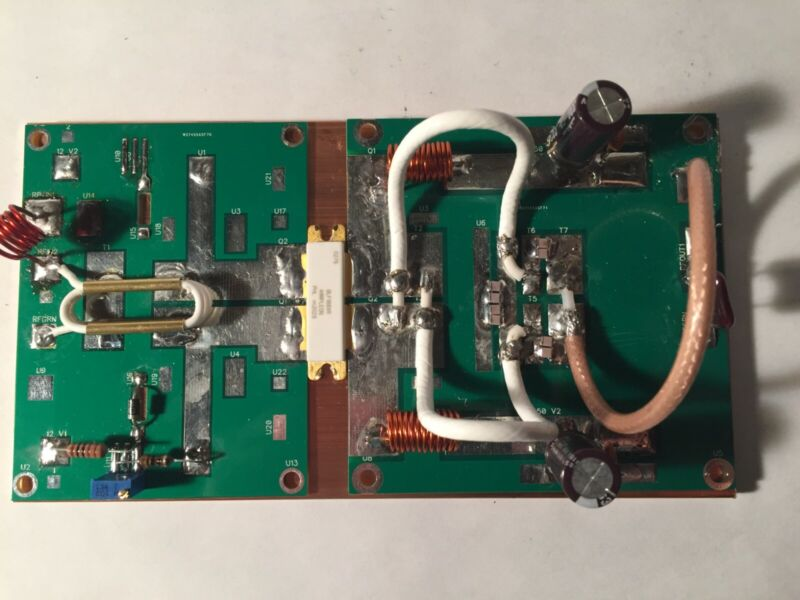 2 Meter 1000 Watt VHF LDMOS Linear Amplifier Board with BLF188XR