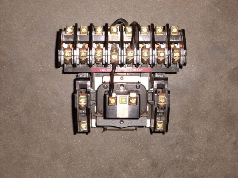 SQUARE D LIGHTING CONTACTOR , 8903-LLO-80 , (B1)