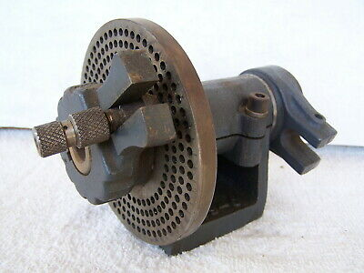 Vintage Globe Products Mfg. Los Angeles Ca. Indexing Head Dividing Head