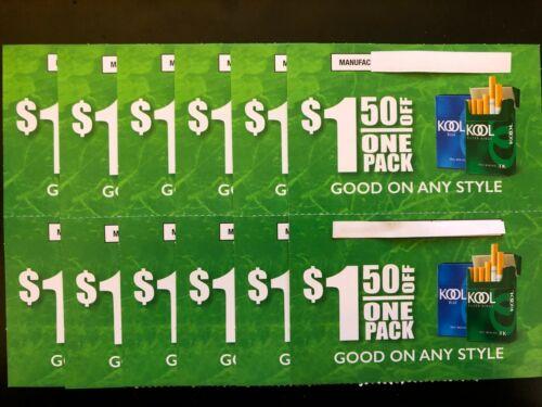 Kool(12) $1.50 off pck! $18.00 Total savings!