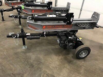 - 35 Ton Horizontal/Vertical Log Splitter, Kohler Engine - Dirty Hand Tools