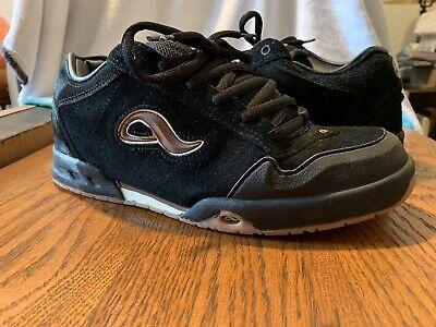 Rare Adio Black White Gum Sole Skate Shoes sz 10 Kenny Anderson V2 Version 2 Bam