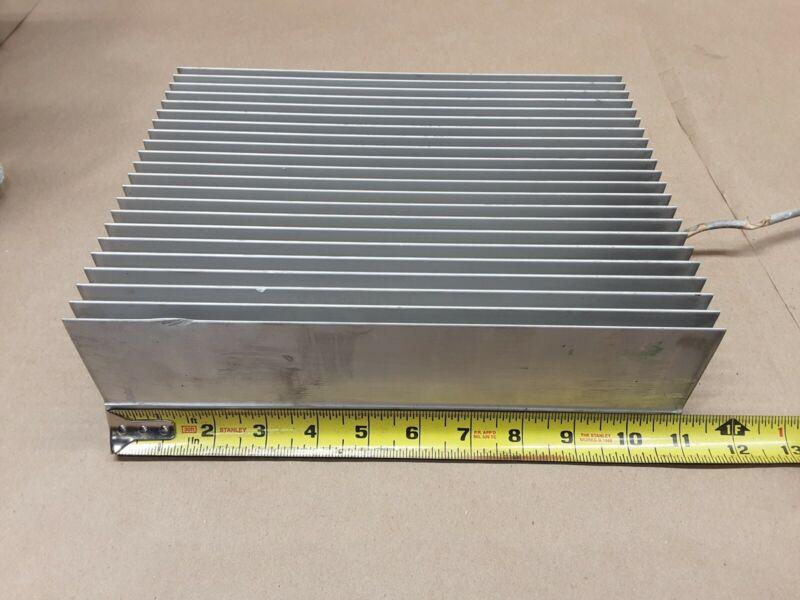"ALUMINUM Heat Sink 11"" X 8.5"" X 3"" #1010E56PR6"