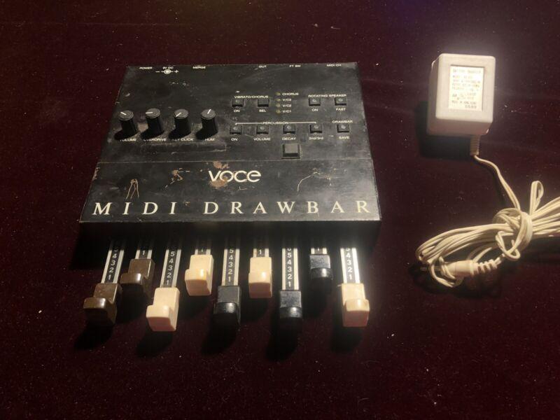 Voce Midi drawbars Used RARE!