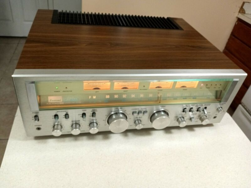 SANSUI G8000 receiver ! Excellent CONDITION  JUST SERVICED,CONTACTS ARE CLEANED