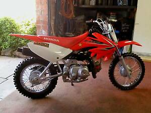 2009 honda crf 70f Miandetta Devonport Area Preview