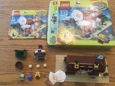 LEGO SPONGE BOB SQUARE PANTS 3825 KRUSTY KRAB COMPLETE +instructions and Box