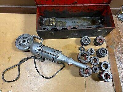 Rigid Model 700 Power Drive Pipe Threader Machine With Dies
