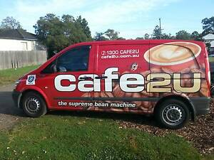 Mobile Coffee Van Business Kingsgrove Canterbury Area Preview