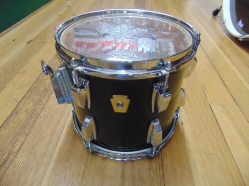 Ludwig 10x9 Classic Maple Tom Drum, Black, Late 80