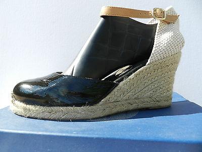 RAS 413FL1Y Zapatos Mujer 41 Sandalias Zapatos Alpargatas de Cuña UK8 Nuevo