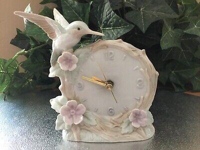 OTAGIRI ,Hummingbird Clock - Beautiful! MINT CONDITION,WORKS GREAT